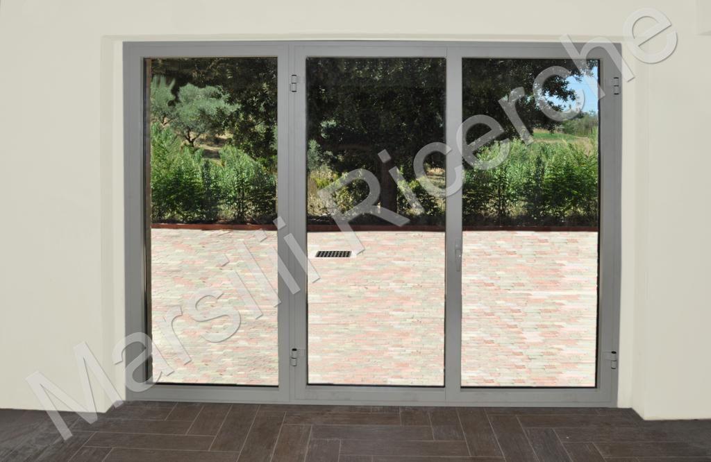 Serramento a taglio termico blindato antiproiettile - Scheda tecnica finestra ...